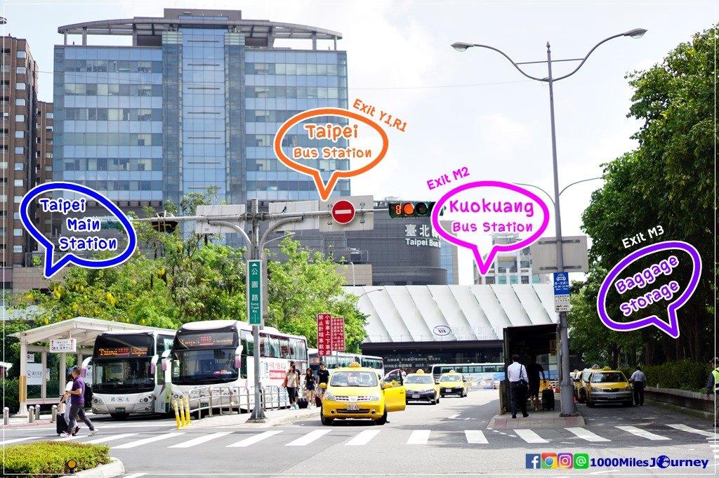 Bus from taoyuan airport to taipei main station