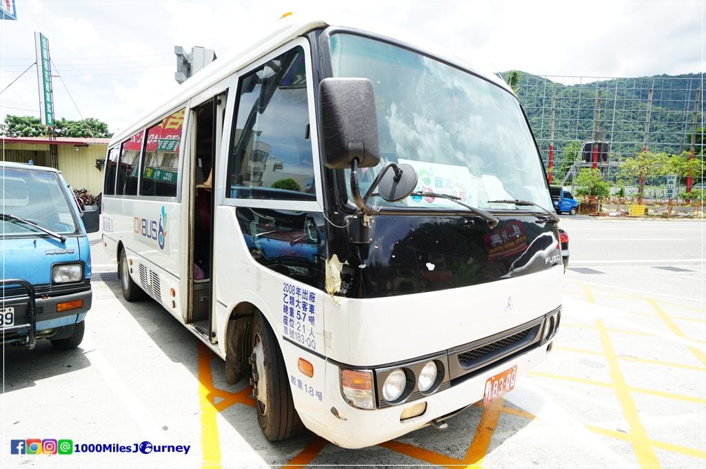 Shuttle Bus from Taichung to Cingjing Farm