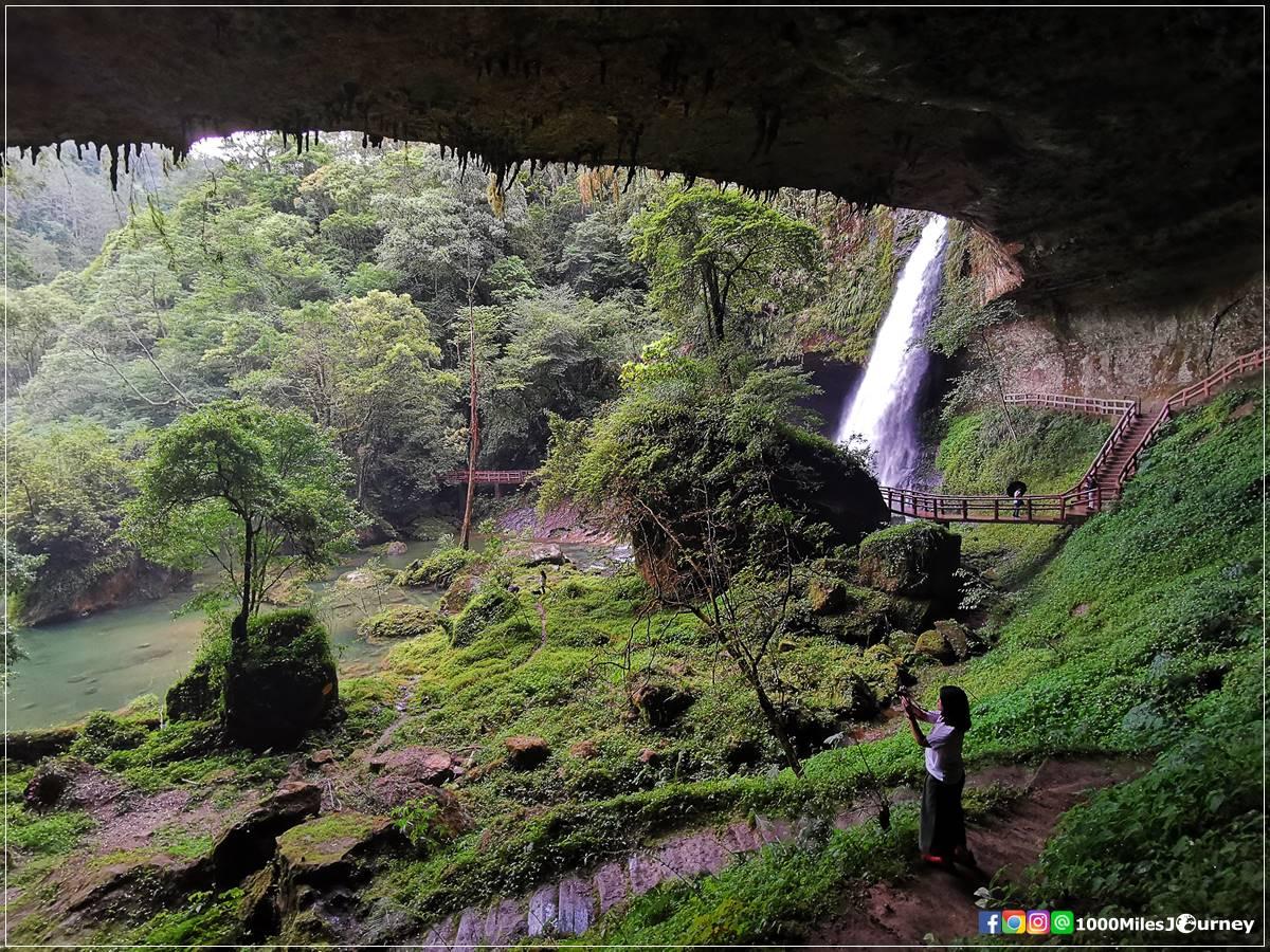 Songlong Rock Waterfall Nantou