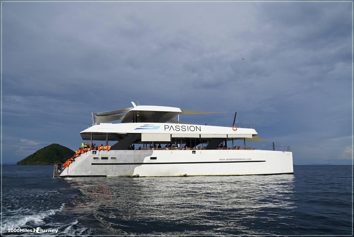 ล่องเรือ Andaman Passion ภูเก็ต