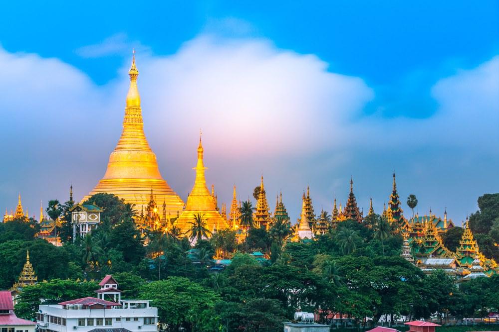 Yangon ย่างกุ้ง