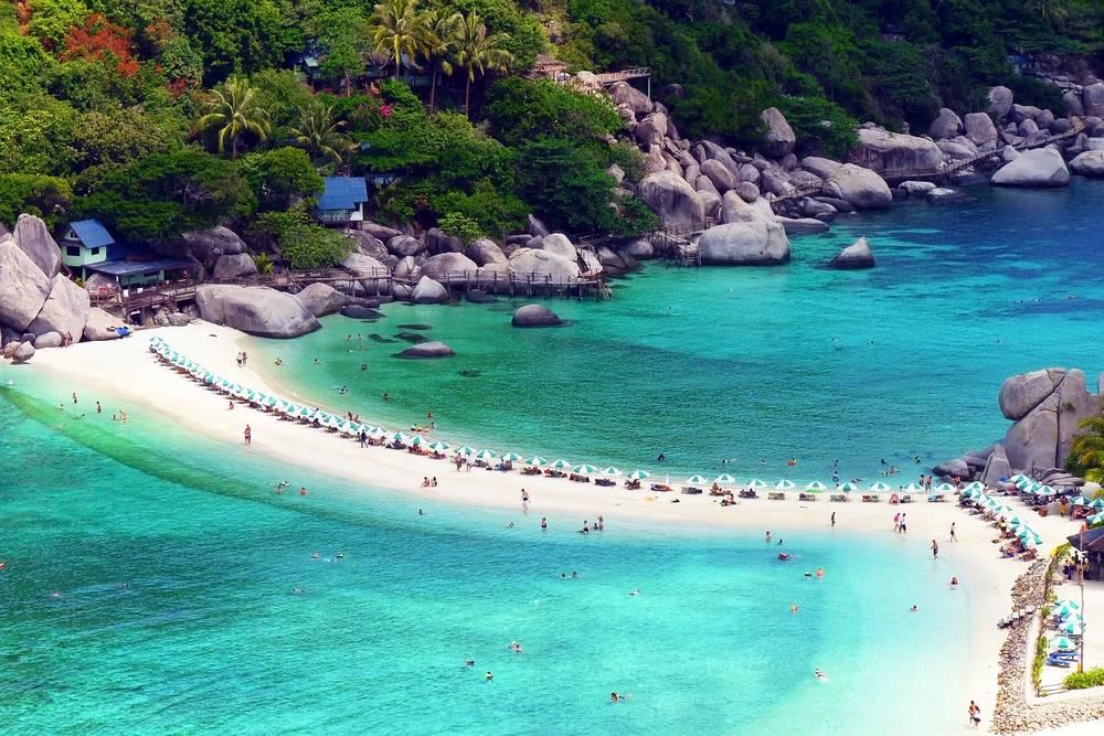 เกาะนางยวน สุราษฎร์ธานี