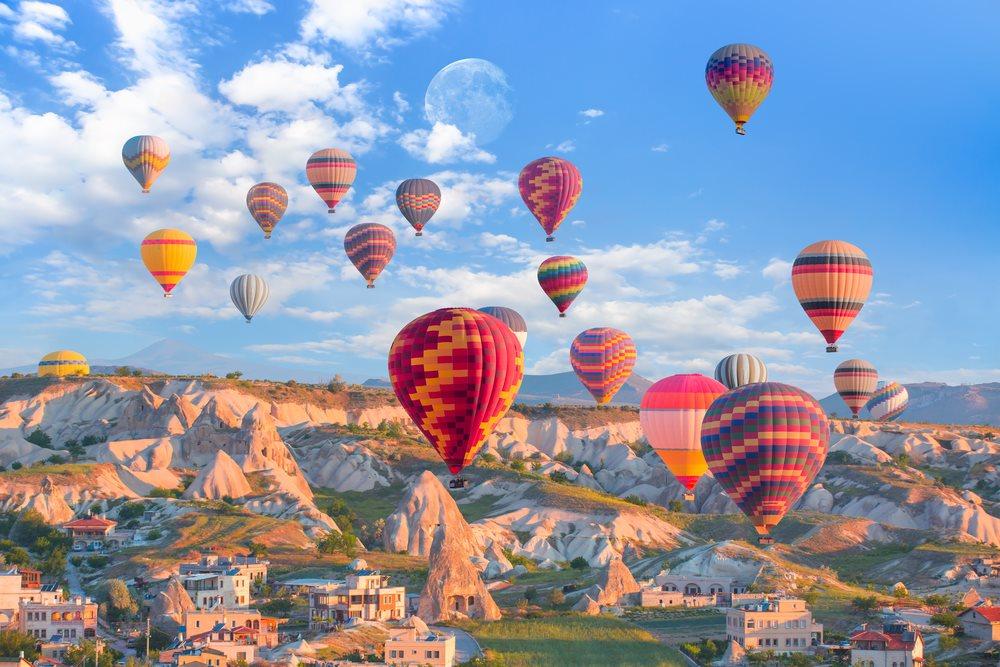 คัปปาโดเกีย (Cappadocia) ตุรกี (Turkey)
