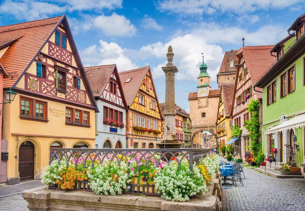 Rothenburg ob der Tauber - Germany